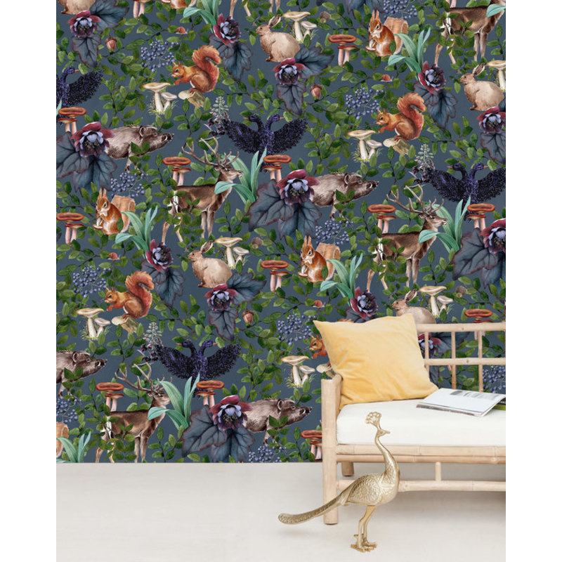 Creative Lab Amsterdam-collectie Oh Deer Wallpaper Mural