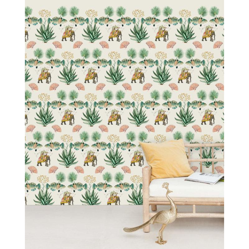 Creative Lab Amsterdam-collectie Jaipur Wallpaper Mural