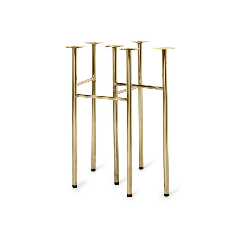 ferm LIVING-collectie Mingle Trestles Brass