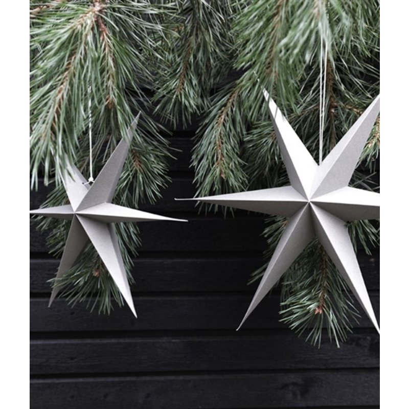 Delight Department-collection Star grey - set of 2 pieces