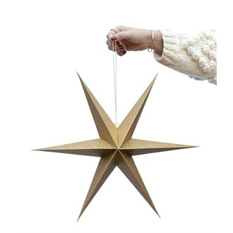 Delight Department-collection Star gold - set of 2 pieces