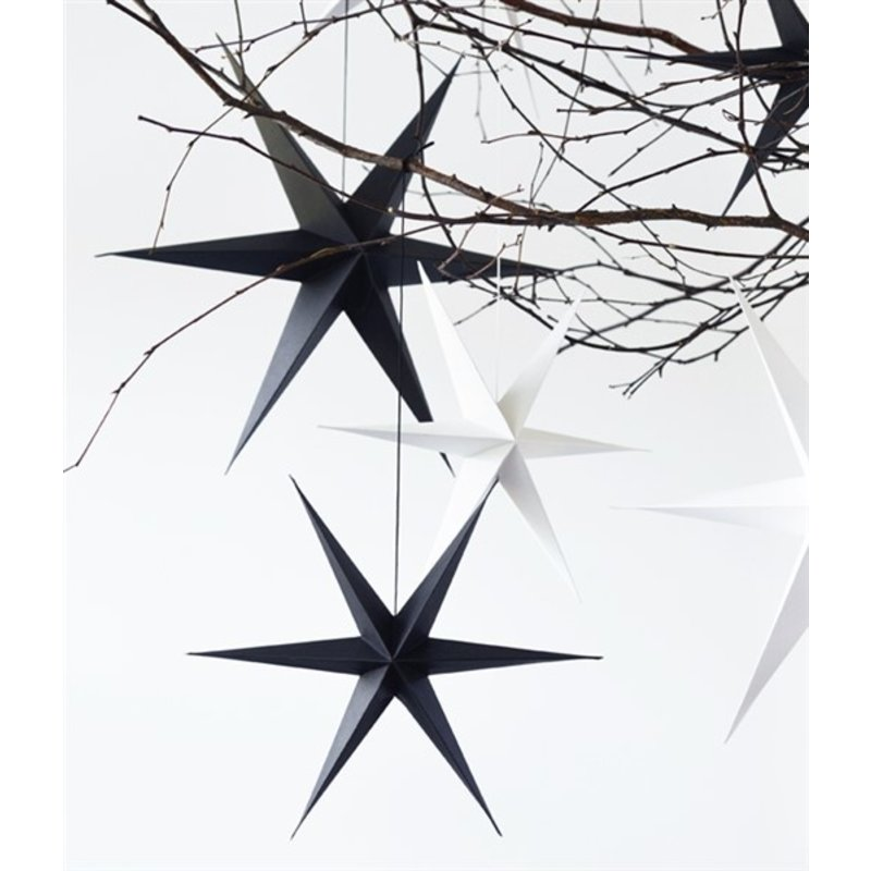Delight Department-collection Star black- set of 2 pieces