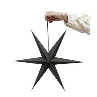 Delight Department-collection Star black - set of 2 pieces