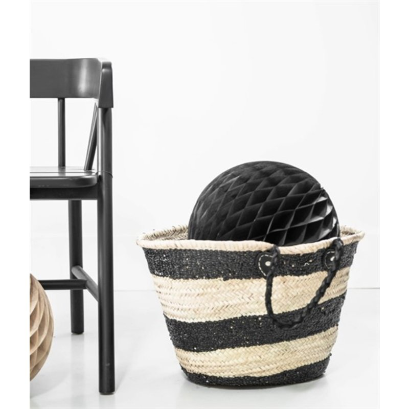 Delight Department-collection Black honeycomb ball - set of 2