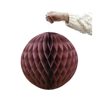 Delight Department-collection Merlot honeycomb ball - set of 2