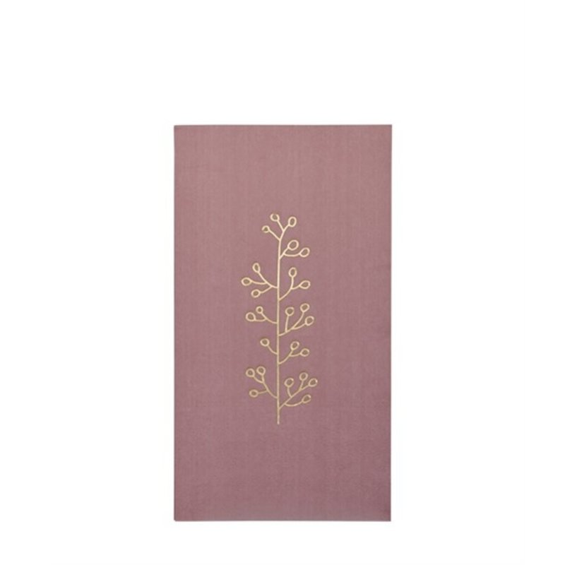 Delight Department-collection Napkins Dusty pink with golden print
