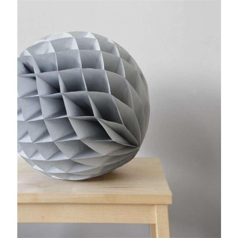Delight Department-collection Grey honeycomb ball - set of 2