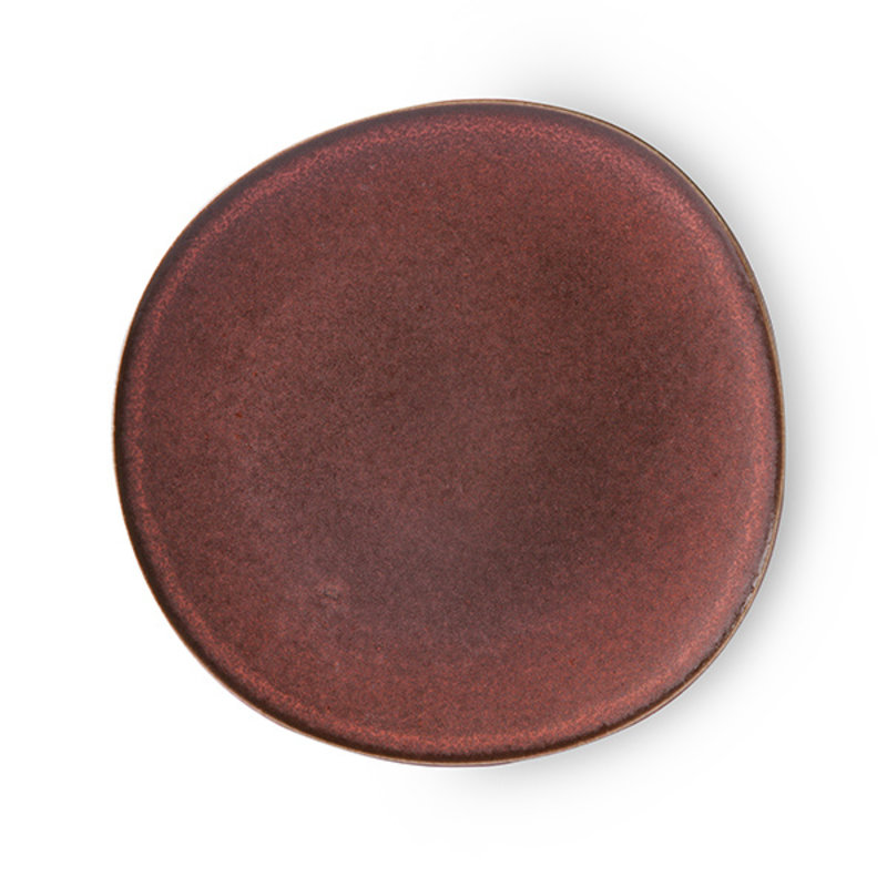 HK living-collectie Bold & basic ceramics: dinner plate terra