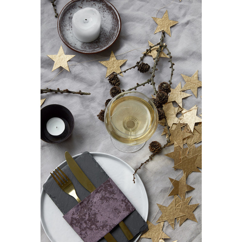 House Doctor-collectie Star guirlande gold