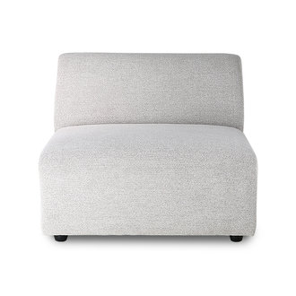 HKliving jax couch element middle, sneak, light grey