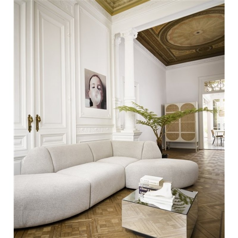 HKliving-collectie jax couch: element left, sneak, light grey