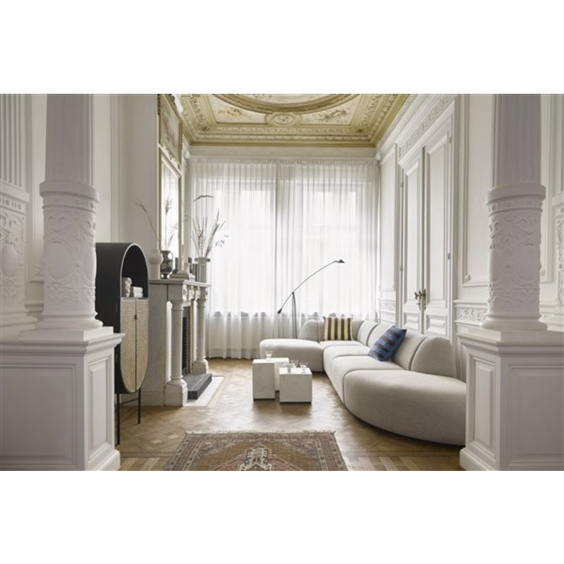 HKliving-collectie jax couch: element left, sneak, light grey
