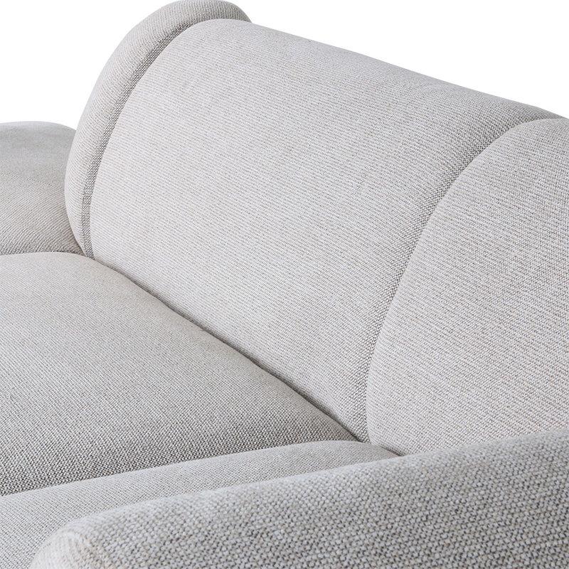 HK living-collectie jax couch: element left, sneak, light grey