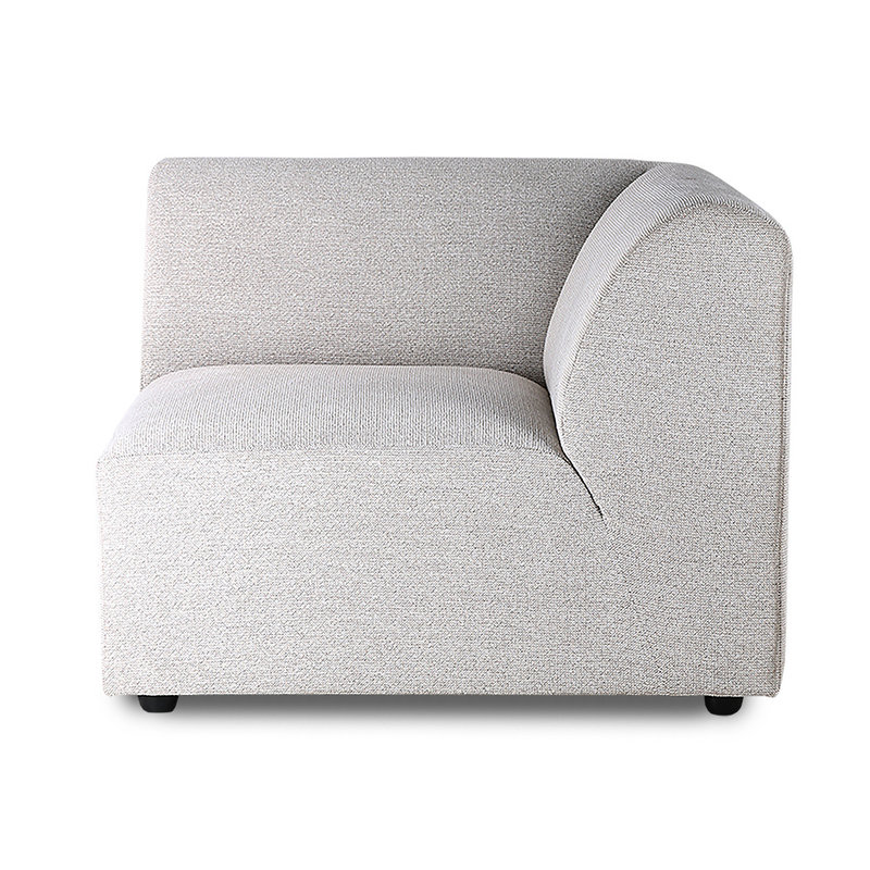 HK living-collectie jax couch: element right, sneak, light grey