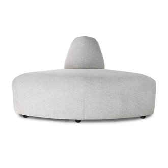 HKliving jax couch: element angle, sneak, light grey