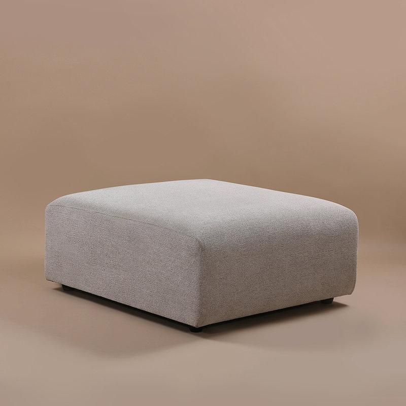 HK living-collectie jax couch: element hocker sneak, light grey