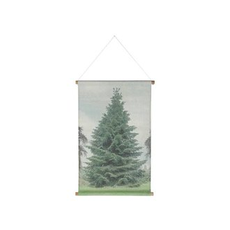 HKliving Wall chart christmas special tree large
