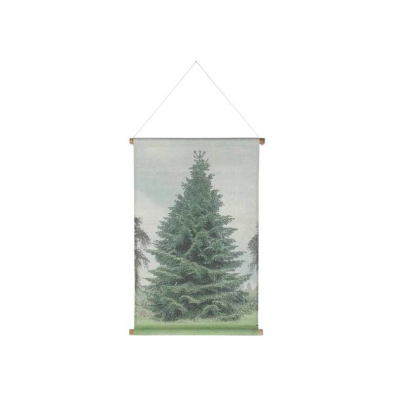 HK living-collectie Wall chart christmas special tree large