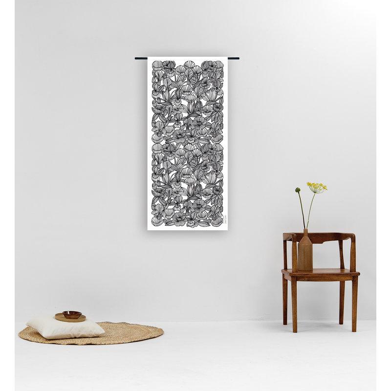 Urban Cotton Amsterdam-collectie Walldecoration Fushion Deep in the soul