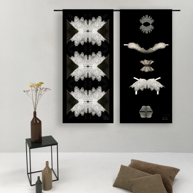 Urban Cotton Amsterdam-collectie Walldecoration Fushion Collars Golden Age