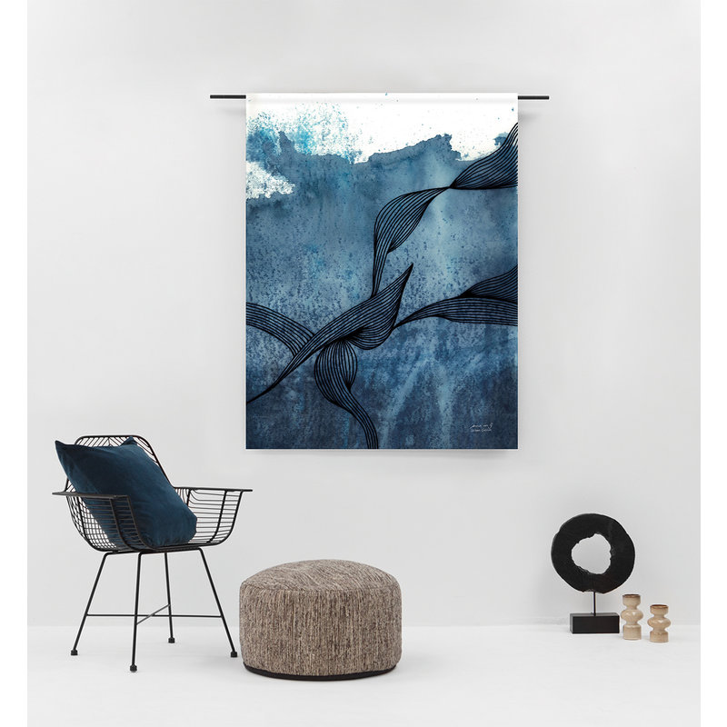 Urban Cotton Amsterdam-collectie Walldecoration  Laws of Motion