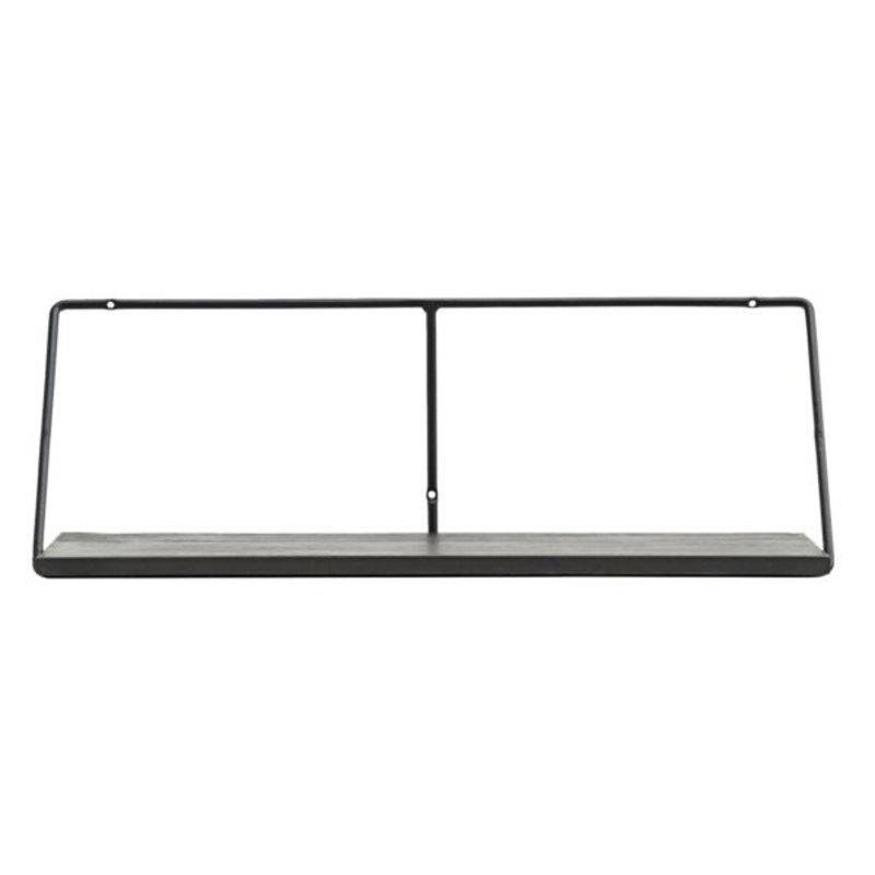 House Doctor-collectie Wandplank Wired zwart 70cm