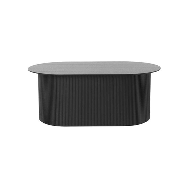 ferm LIVING-collectie Salontafel Podia zwart
