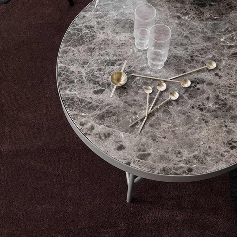 ferm LIVING-collectie Marmeren salontafel bruin 70,5 cm