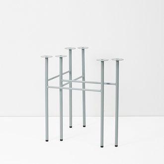 ferm LIVING Mingle Table Legs W68 -Du Blue(Set of 2)