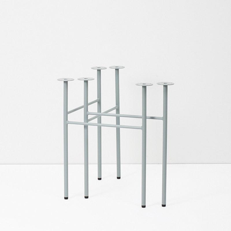 ferm LIVING-collectie Mingle tafelpoten dusty blue - W68