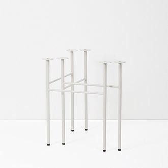 ferm LIVING Mingle tafelpoten lichtgrijs - W68