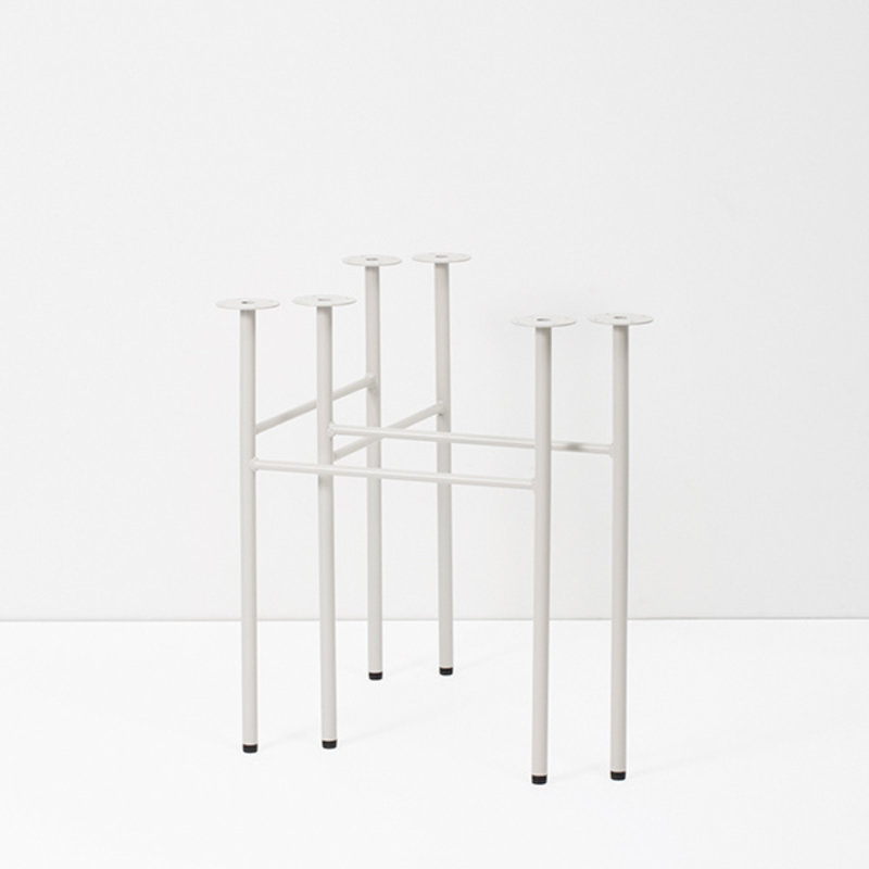 ferm LIVING-collectie Mingle Table Legs W68 -Lg Grey(set of 2)