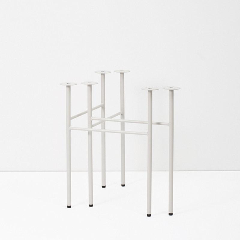ferm LIVING-collectie Mingle tafelpoten lichtgrijs - W68