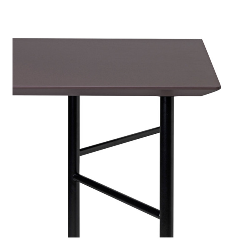 ferm LIVING-collectie Mingle tafelblad 160 cm - taupe