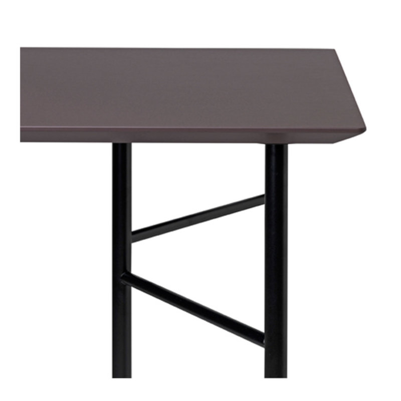 ferm LIVING-collectie Mingle Desk Top 135 cm - Lino - Taupe