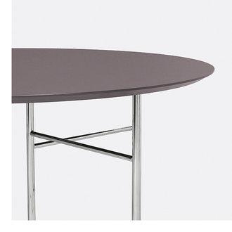 ferm LIVING Mingle tafelblad rond lino taupe - 130 cm