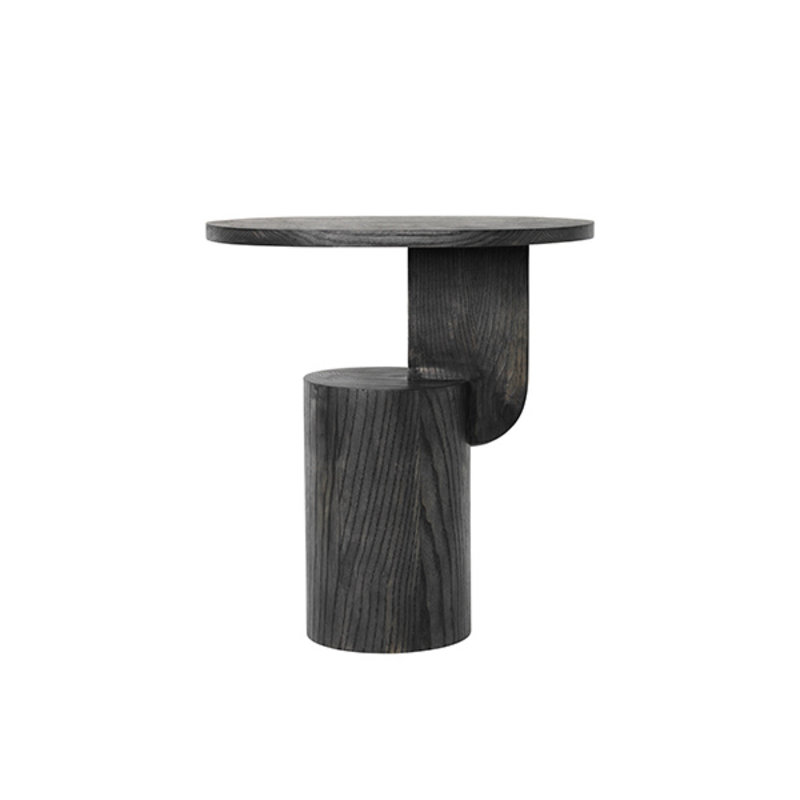 ferm LIVING-collectie Insert Side Table - Black stained