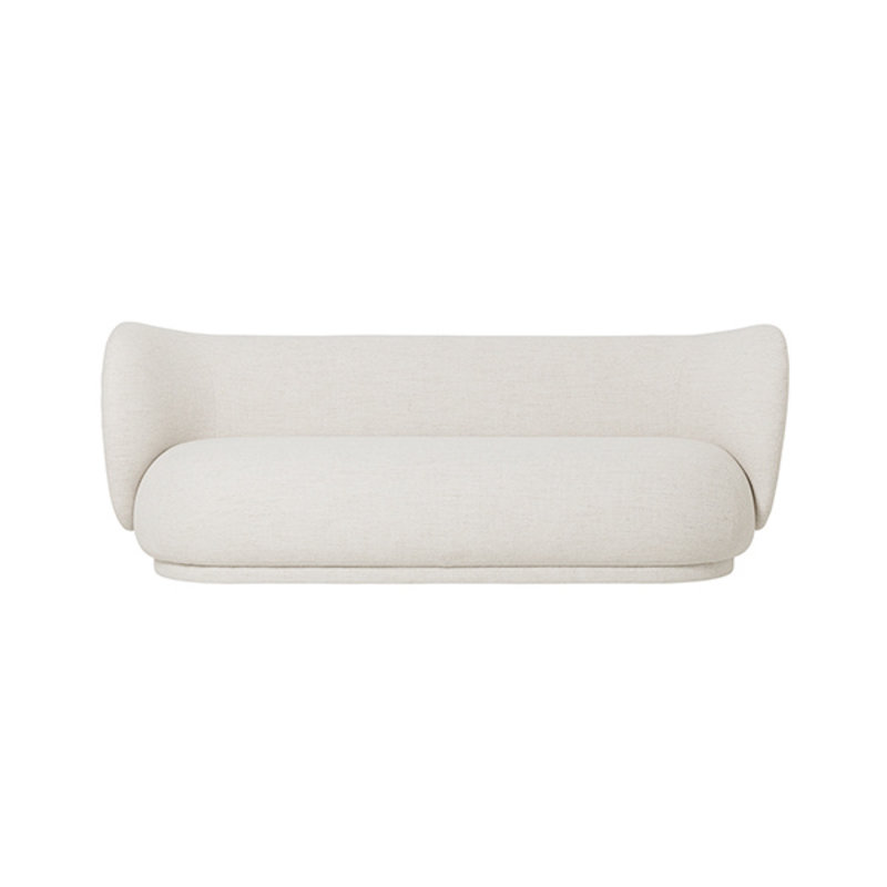 ferm LIVING-collectie Rico 3 zits bank Boucle off white
