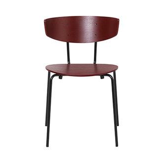 ferm LIVING Herman Chair - Red Brown
