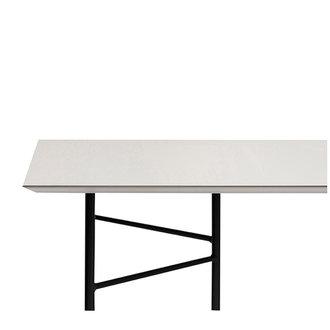 ferm LIVING Mingle tafelblad 210 cm - Lino - Lightgrijs