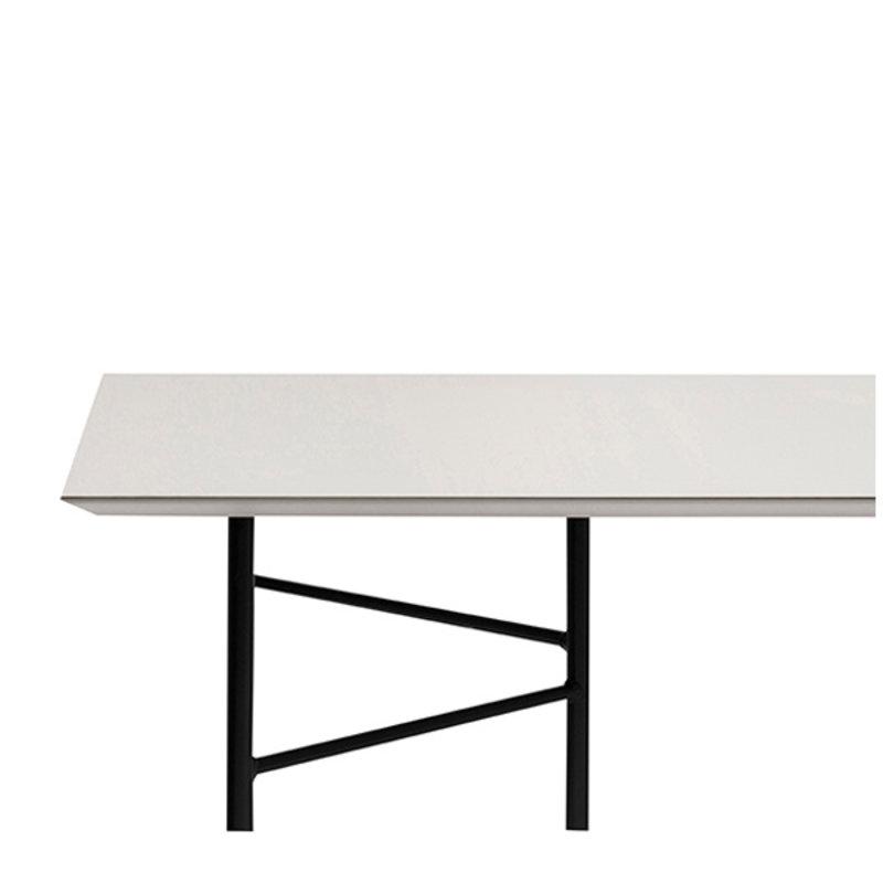 ferm LIVING-collectie Mingle tafelblad 210 cm - Lino - Lightgrijs