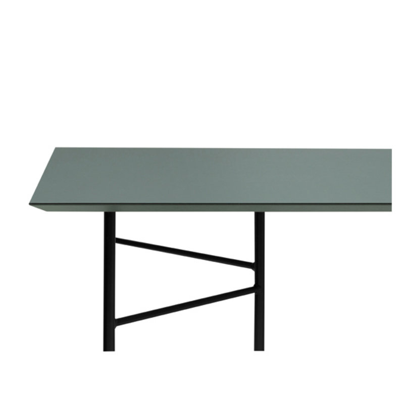 ferm LIVING-collectie Mingle Table Top 210 cm - Lino - Green
