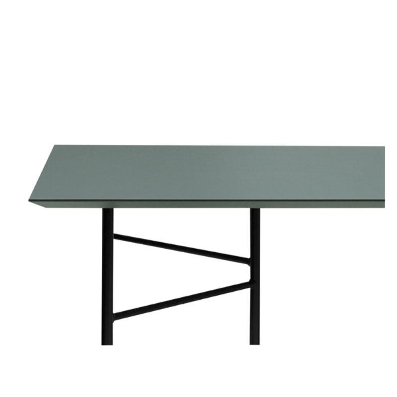 ferm LIVING-collectie Mingle tafelblad 210 cm - Lino - Groen