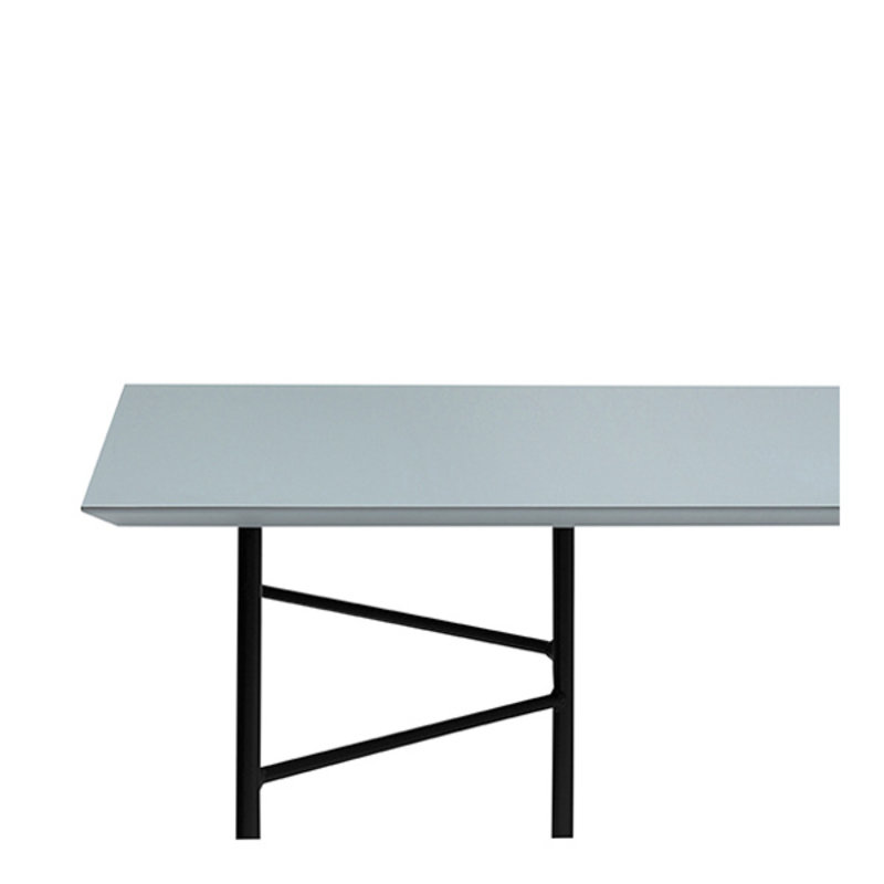 ferm LIVING-collectie Mingle tafelblad 210 cm - Lino-Dusty Blue