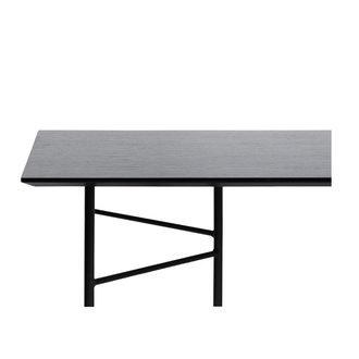 ferm LIVING Mingle tafelblad 210 cm - zwart veneer