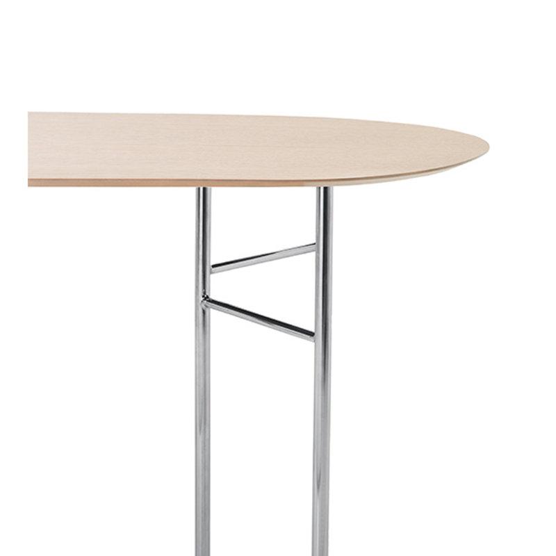 ferm LIVING-collectie Mingle Table Top Oval 150 cm - Natural Oak veneer