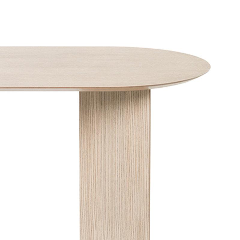 ferm LIVING-collectie Mingle tafelblad ovaal naturel eiken veneer  150 cm