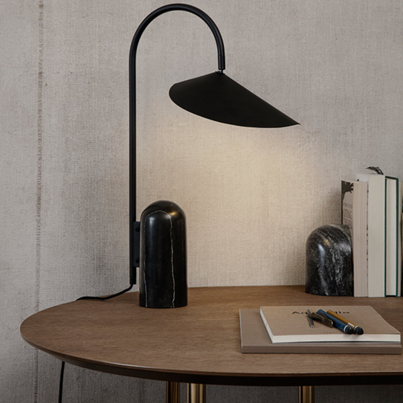 ferm LIVING-collectie Mingle Table Top Oval 150 cm - Dark Stain oak