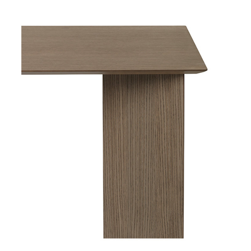 ferm LIVING-collectie Mingle Desk Top 135 cm - Dark Stained Oak