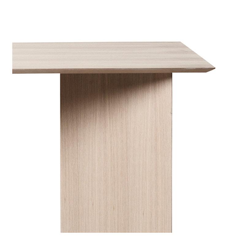 ferm LIVING-collectie Mingle Table Top 210 cm - Natural Oak Veneer